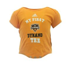 Houston Dynamo Official MLS Adidas Baby Infant Size Creeper Bodysuit New Tags