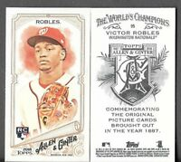 Victor Robles 2018 Topps Allen & Ginter A&G BACK MINI Nationals RC #95