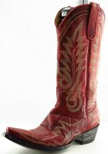 Old Gringo Boot Sz 8.5 M Cowgirl Boots Pointed Toe Red Leather Women