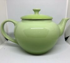 NEW Le Creuset Small Teapot with Infuser 22oz/0.6L Kiwi Green Stoneware 2 Cup