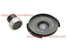 Konica Hexagon 17mm f16 Wide Camera Lens with Viewfinder Leica M Bayonet Mount