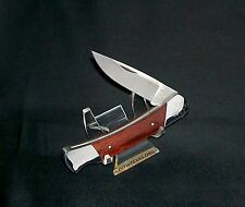 "Buck 503 Prince Lockback Knife W/Hardwood Handles"" 3-3/8"" Cl. Texas Collector's"