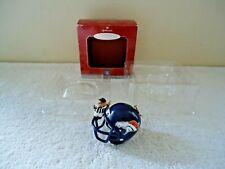 "1998 Hallmark Keepsake Ornament NFL Collection "" Denver Broncos "" BEAUTIFUL ITEM"