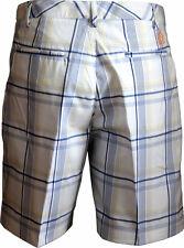 Puma Golf Tartán Tech pantalones cortos para niños y jóvenes negro/blanco