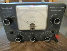 HEATHKIT MODEL AG-9. TUBES. AUDIO GENERATOR. LIGHTS UP. NOT TESTED. USED-USA