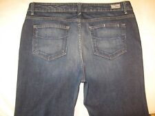 Paige Premium Jeans Mandeville Canyon High Waist Bootcut Distressed Sz 16 W