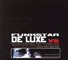 ~DAMAGED ARTWORK CD Funkstar De Luxe: Keep on Moving: De Luxe Remix