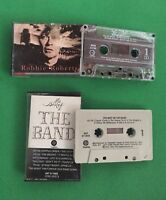 BAND Best of ROBBIE ROBERTSON s/t  Cassette Tapes 2 lot