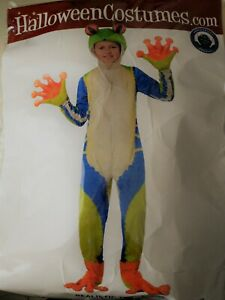 Child's Realistic Tree Frog Costume Complete KIDS SIZE M 8-10