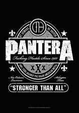 "PANTERA FLAGGE / FAHNE ""STRONGER THAN ALL"" POSTERFLAGGE"