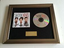 SIGNED/AUTOGRAPHED THE MIDNIGHT BEAST - SHTICK HEADS FRAMED CD PRESENTATION.