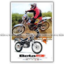 PUB BETA ALP 4.0 - Original Advert / Publicité Moto 2004