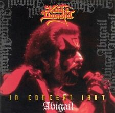 CD In Concert 1987 Abigail by King Diamond 1997 NEW SEALED