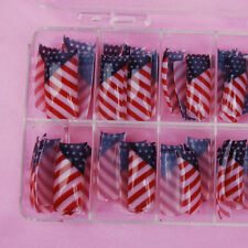 70Pcs Nail Art False French Acrylic Nail Tips BQ Half Nail Tips Manicure Decor