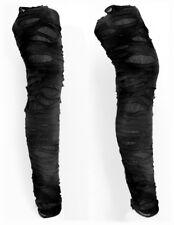 Gr.36/38  Sexy Trend LEGGINGS cut out Riss Style Loch Leggins Hose Schwarz 66029