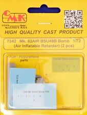 CMK sp7342 resina 1/72 mk.82 ARIA bsu49b BOMB (ARIA GONFIABILE rallentatore) (2 PZ)
