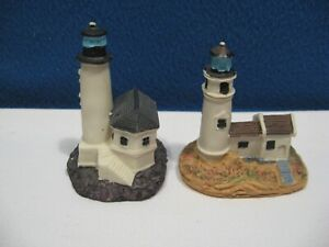 Two Miniature Lighthouses