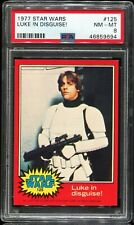 1977 Topps Star Wars Red Series 2 #125 LUKE IN DISGUISE! PSA 8 NM-MT