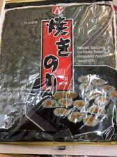 "1Pks X Yaki Sushi Nori 10 Roasted Sea-laver Sheets For Sushi 25g ""UK Seller"""