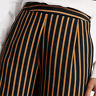 M&S Ladies Trousers / Black Striped Crepe Wide Leg BNWT/ Marks & Spencer Women