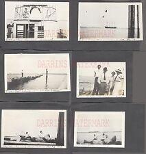Lot of 6 Unusual Vintage 1912 Photos Ships on Horizon 700212