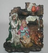 Plastic Mini Nativity Scene