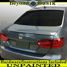 2011-2018 ABS Volkswagen JETTA OEM Factory Style Spoiler Trunk Wing UNPAINTED