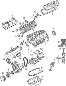 Genuine Ford Intake Valve YF1Z-6507-BA