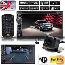 2DIN Car Stereo CD DVD AUX IN Player HeadUnit W/- Backup Camera For Honda Accord