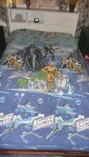 Vintage Star Wars Bedspread, Sleeping Bag, and Sheets. The Empire Strikes Back