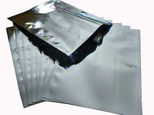 "(50) 12.5"" x 18"" Silver Mylar Bags plus (100) FREE 200cc OAP"