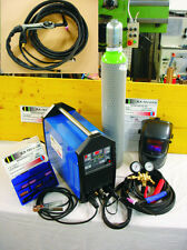 WIG Schweißgerät 210 A, AC DC, UP/Down Funktion, 10 L Gasflasche, Alu, Niro, TOP