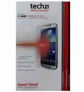 tech21 Impact Shield Anti-Scratch Screen Protector for Samsung Galaxy S4