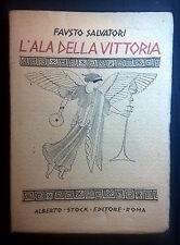 L'ALA DELLA VITTORIA SALVATORI 1924
