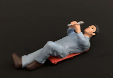 Mechanic Laying Hand Painted Figure 1:32 Scale
