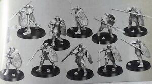 Warhammer fantasy, Stormcasts 10 Vindictors mit Basen.