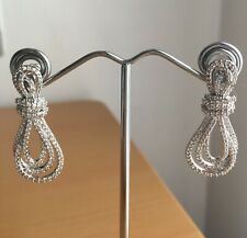 Bow knot Crystal  Wedding Everyday Drop Earring Fashion Jewellery