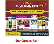 Instant Niche Plr Wordpress Blogs Volume 2 10 Hottest Offline Business Mode