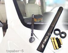 "TRD Antenna 4.7"" Short Black Carbon Fiber Fit JAPAN CAR ALL MODEL Universal"