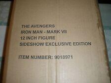 "rare Sideshow exclusive  Iron Man Mark VII AVENGERS 12"" 1/6 scale"