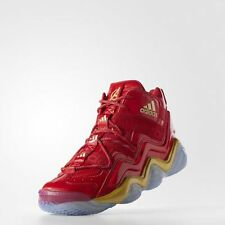 Adidas Top Ten Iron Man The Avengers size 14. Rare crazy t-mac 8 red silver 3M