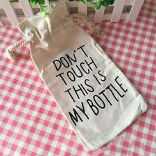 500ML Drinks Fruit Juice Water Cup Cute My Bottle Tumbler & Portable Canvas Bag