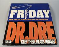 "DR.DRE / MACK 10 Keep their heads ringin PVL 53188 single 12"" rap/hip hop/Friday"