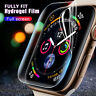 2pcs Hydrogel Film Full Watch Screen Protector For Apple iWatch Series 3 4 44mm