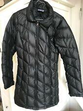 Patagonia Ultralight Fiona Parka Down Jacket Size M Black