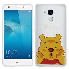 Carcasa Funda De Silicona TPU Ultra Fina Winnie the Pooh Huawei Honor 5c/ 7 Lite