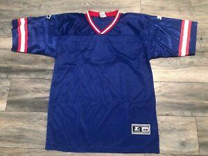 Vintage New Buffalo Bills Starter NFL Blank Jersey Size 48 Jim Kelly