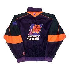 ef3581a0074 Vtg NBA Phoenix Suns Pro Player Jacket. Men s Large.