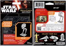 STAR WARS - Metal Earth - AT-ST - 3D Metal Kits - Sans Colle - NEUF