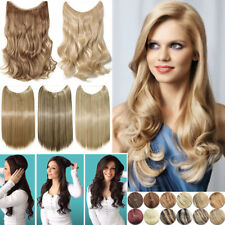 Elastic Wire Hair Extensions Headband Invisible Wire Hidden Secret Crowns AU FO3